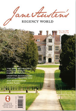 Jane Austen's Regency World March/April issue 2009