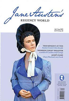 Jane Austen's Regency World July/August issue 2009