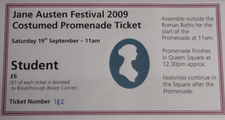 Promenade Ticket
