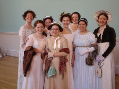 Me and the other Sense & Sensibility ladies