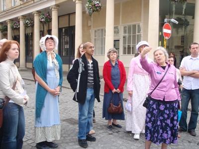 jane austen walking tour