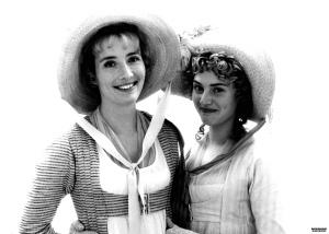 Elinor and Marianne Sense and Sensibility