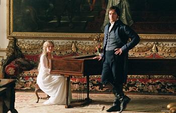 Georgiana and Mr Darcy Pride and Prejudice