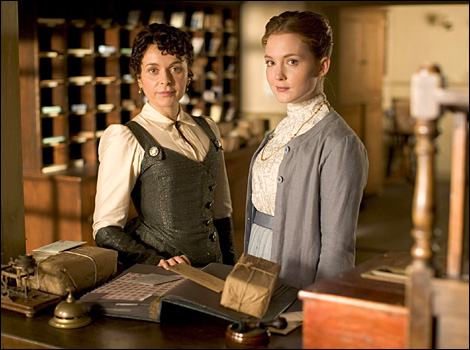 Lark Rise to Candleford season 2 Dorcas and Laura
