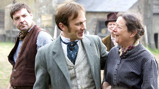 Lark Rise to Candleford season 2 Mr Timmins, Mr Dowland, Queenie