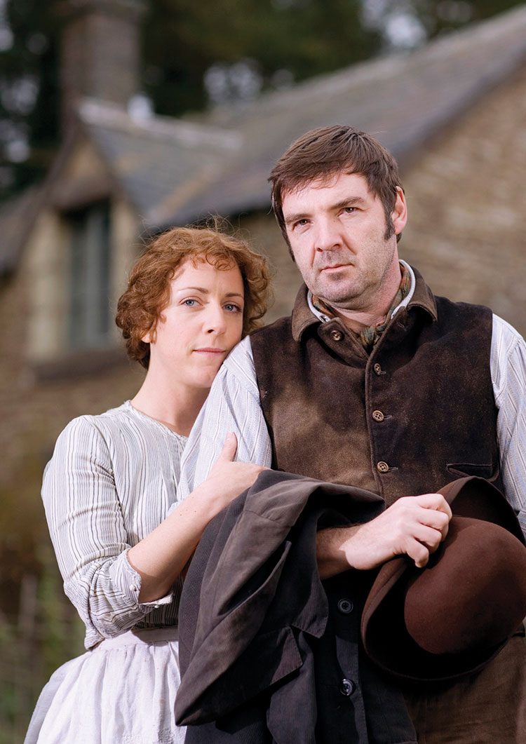 Lark Rise to Candleford season 2 Mr and Mrs Timmins