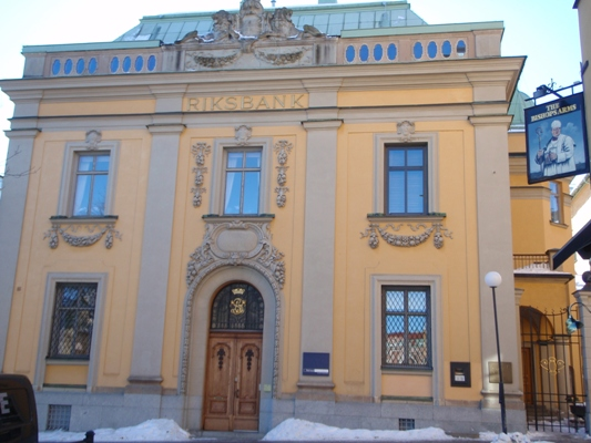 Riksbanken in Örebro