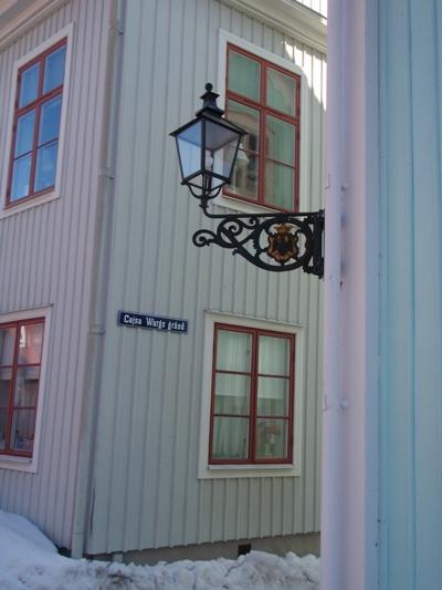 Street lamp in Wadköping