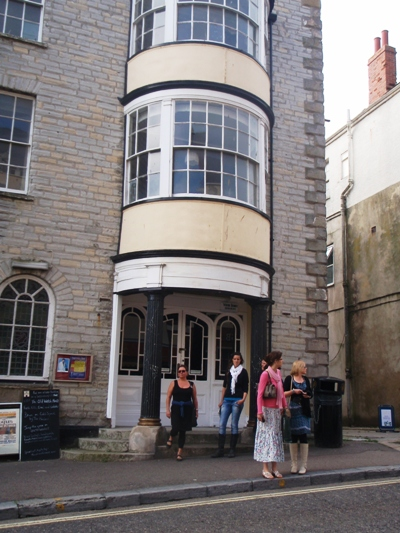 House where Jane Austen stayed Lyme