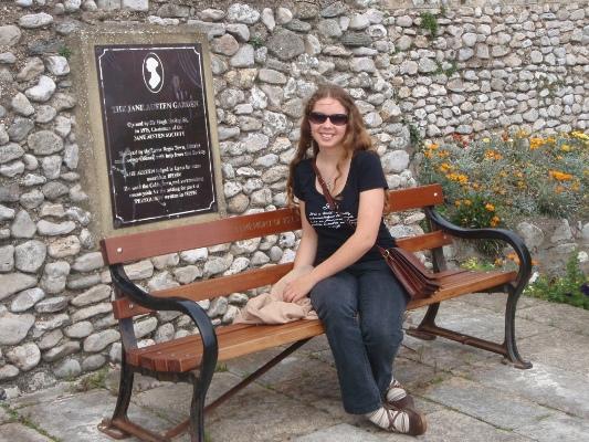 Jane Austen Garden Lyme Regis