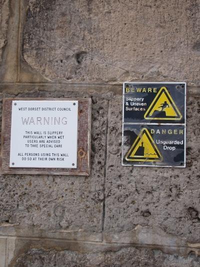 Warnign signs