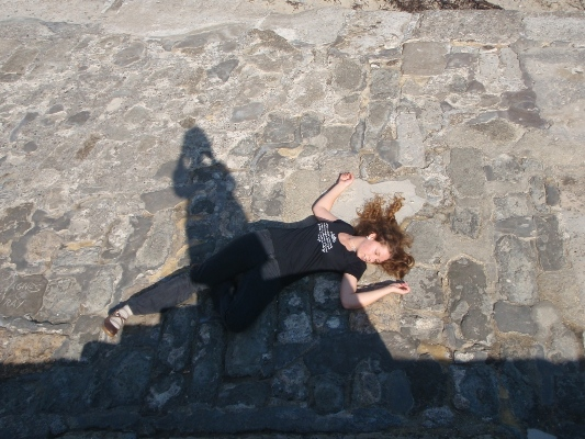 "The Cobb Lyme Regis ""After jump"""