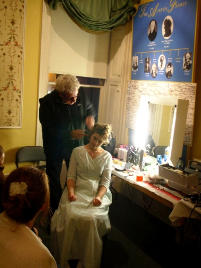 Hairstyle event Jane Austen Fetival