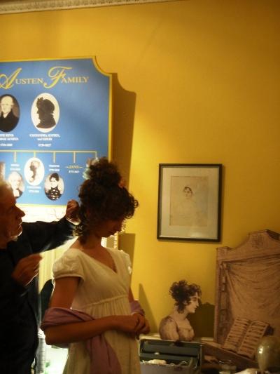 Hairstyle event Jane Austen Festival