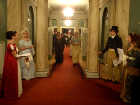 Farthingale Ball Assembly Rooms Bath