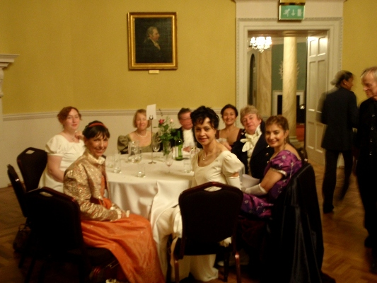 Farthingale Ball Assembly Rooms Bath, Dinner
