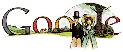 Google honoring Jane Austen