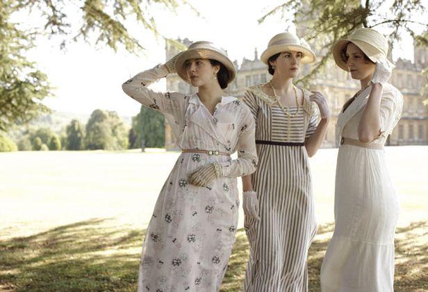 Downton Abbey 3 sisters