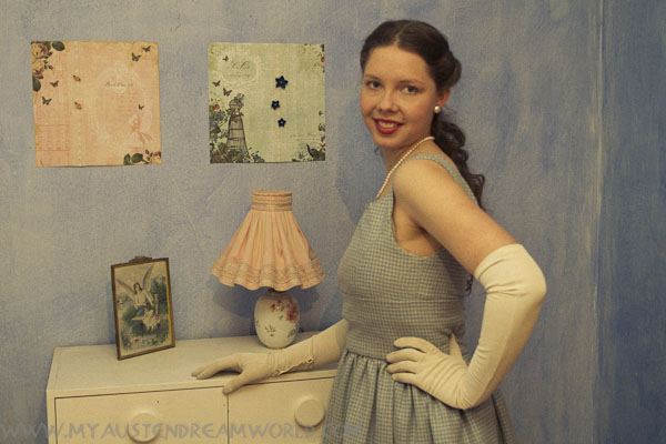 My 50's inspired dress - photo Gabi Reichert