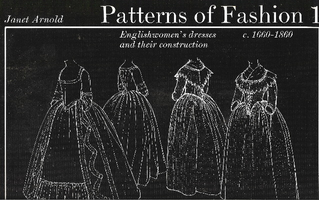 Janet Arnold Patterns of Fashion